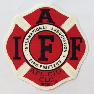 IAFF Decals